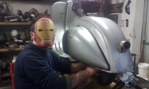 Francesco Iron Man